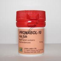 Pronabol-10 (Метан, Метандиенон) Lyka Labs 100 таблеток (1таб 10 мг)
