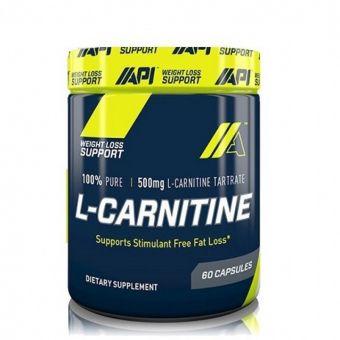 Жиросжигатель API- L-Carnitine 60 капсул - Алматы