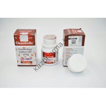 Оксандролон Cooper 100 таблеток (1таб 10 мг) - Алматы