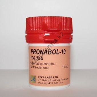 Pronabol-10 (Метан, Метандиенон) Lyka Labs 100 таблеток (1таб 10 мг) - Алматы