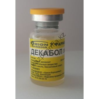 Декабол 300 (Дека, Нандролон деканоат) Orion pharma балон 10 мл (300 мг/1 мл) - Алматы