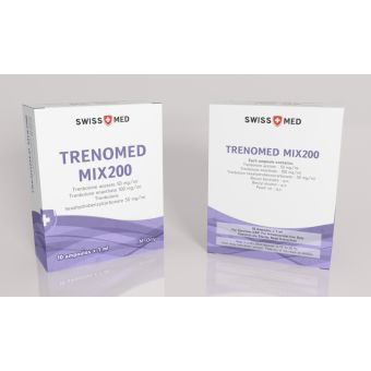 Три-Трен Swiss Med Trenomed MIX200 10 ампул (200мг/1мл)